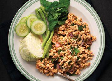 סלט עוף תאילנדי – לארב ลาบ (תאילנד)