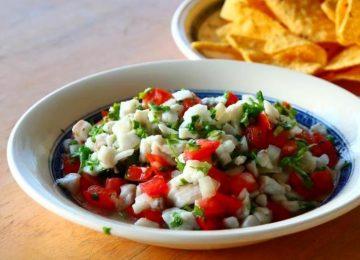 סביצ'ה דגים –  Fish Ceviche (מקסיקו)