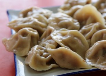 כיסונים סינים – גְ'יָאודְזְה Jiaozi