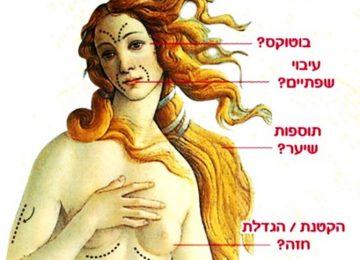 וואלה יופי!  לשנות את האופן בו נשים מסתכלות על עצמן!